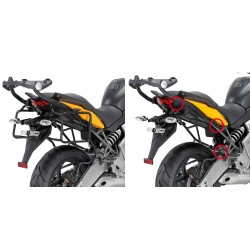 SUPORTE LATERAL VERSYS 650 ENGATE RÁPIDO PLR450