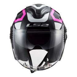 CAPACETE LS2 OF570 MARKER PINK