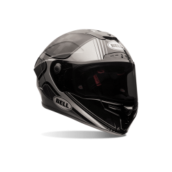 CAPACETE BELL PRO STAR TRACER BLACK/SILVER
