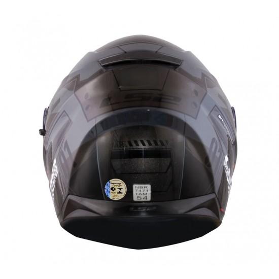 CAPACETE LS2 FF320 STREAM ANGEL CINZA