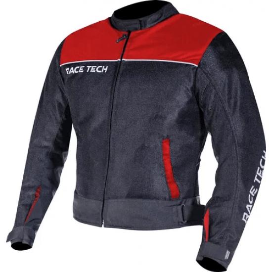 JAQUETA RACE TECH FAST AIR PRETO/VERMELHO