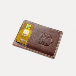 CARTEIRA COMPACTA PARTY WALLET ITALIANO CAFÉ  NORDWEG - NW009